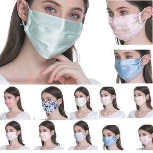 Moda İpek Güneş kremi Yüz Kadın ve Erkek Nefes Yaz İnce Bölüm Temizlendi edilebilir Maske Ve Kolay Toz HH9-3182 Maske nefes almak