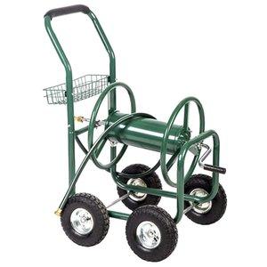Garden Water Hose Reel Cart Outdoor Heavy Duty Yard Planting W Basket