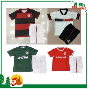 Kit enfants 20 21 Flamengo Palmeiras Jersey 2020 2021 Jerseys de football Chemise de football sportif internacional