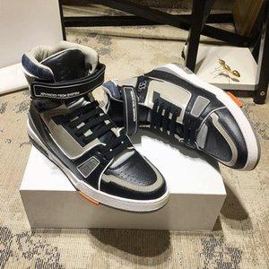 New Arrival Trainer Sneaker Boot Men &#039 ;S Shoes Drop Ship Comfortable Luxury Footwears Lace -Up Men Shoes Chaussures De Sport Pour Homme