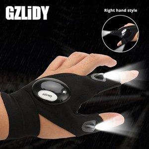 LED nouveauté gant lumière doigt lumière Batterie inclus Utilisé pour la pêche de nuit, le camping, les réparations, aventure, etc.