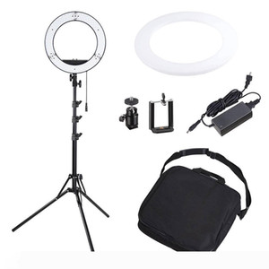 US Stock 12 inch 40W LED Ring Light With Tripod Photo Studio Camera Light Video light with Tripod Phone Holder