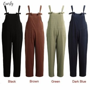 For Overalls Women Dungarees Oversize Rompers Women Jumpsuit Strap Solid Tracksuit Harem Trousers Playsuit Plus Size 3Xl 4Xl 5Xl
