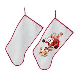 Christmas Merry Christmas Gifts хранения чулок Дети Прикроватная конфеты сумка Персонализированного Blank DIY Пользовательский Xmas Supplies BWB967