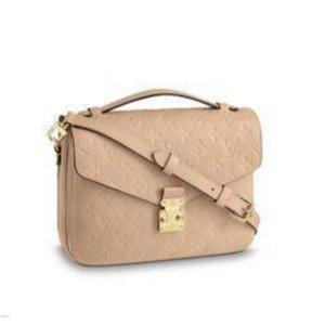 M44245 M44018 Pochette Metis Lady Emobss Hand Bag Purse Messenger Shoulder Crossbody Handbags Totes Boston Bags