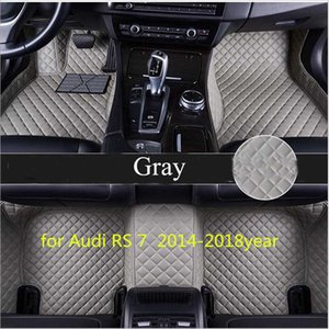 Maßgeschneiderte Auto Bodenmatte wasserdicht PU-Leder Material, geeignet für Audi RS 7 2014-2018year