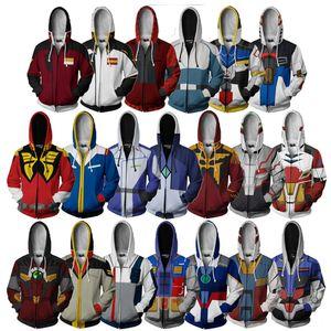 3d Pullover Telefon Telefon anime Pullover Riman Mobile Suit Mobile Suit Digitaldruck jacketmen