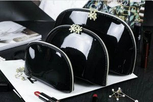 2020 NEW! Women snowflake famous brand 3pcs set vanity cosmetic case luxury makeup organizer bag toiletry clutch pouch boutique VIP gift
