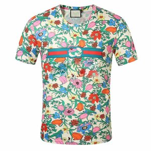 Designer SS20 New Top quality Men's and women's fashion casual T-shirt printed T-shirt short sleeve