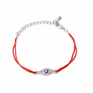 red black string blue oil drop evil eye lucky cheap fashion gifts bracelet for women friendship bracelet