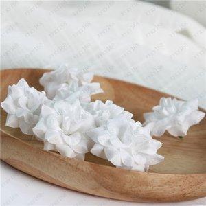 인공 꽃 머리 플란넬 장미 꽃 머리 실크 인공 꽃 벽 웨딩 장식 배경 벽 골든 로즈 100PCS