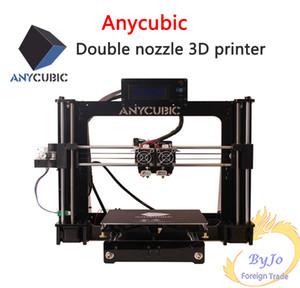 Anycubic طابعات 3D الصينية الإنجليزية واجهة التعلم DIY prusa إشارة جناح I3 فوهة مزدوجة اللون مزدوجة الطباعة طابعة 3D