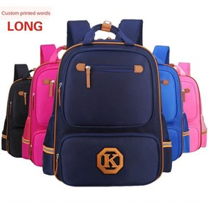 Schoolbag for pupils 1-3-6 grade waterproof training tutorial Bag backpack class children's backpack for educational institutions