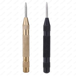 DIUHigh Quality 5 Inch 12.7 mm Automatic Center Pin Punch Spring Loaded Marking Starting Holes Precision Screwdriver Tool Free shipping
