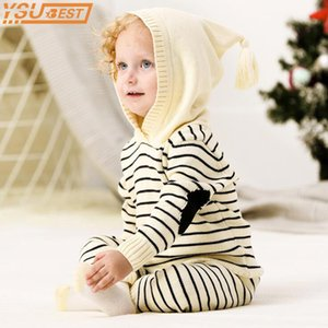 Baby Clothing boy Outfits Fall Winter Outwear Infant Boys Knit Tracksuits Crochet Toddler Girls Sport Suit Hoodies Pants Set