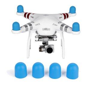 Günstige Drone Zubehör-Kits 4 Stück weicher Silikon-Hat-Kits Motor Abdeckkappe für DJI Phantom 2 3 4 Pro Advanced SE