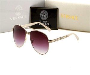 HOT 명품 선글라스 패션 남성 여성 BrandGlasses 야외 휴가 커플 선글라스 럭셔리 베르사체