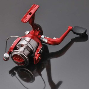 Red NL1000-6000 Spinning Wheel Sea Pole Wheel Sea Fishing Handle Wheel Plastic Spool New Fashion Fishing Accessories