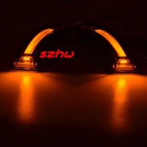 Juli König LED Rückspiegel Lichter Fall für Hyundai Elantra Avante Veloster 2011-2015, Positon Führungslampe DRL + Blinker + Fußlampe