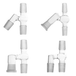 45/90 Grad reclaimer Satz für Ölbohrinsel bong Glas haben 14 18 männlichen und weiblichen Adapter Komplett neues Design reclaimer