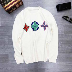새로운 디자이너 흰색 까마귀 운동복 남성 여성 스웨터 후드 티 긴 소매 스웨터 브랜드 후드 스트리트 패션 Sweatershirt