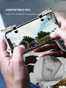 Freeshipping Wireless DATA FROG 2 пакета Mobile Controller Trigger Game Пожар Кнопка телефона Джойстик для PUBG для IPhone 7 8 Plus X Для Xiaomi