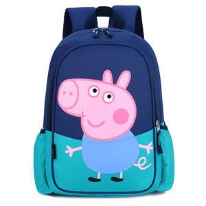 2020 bolsa er grado medio de la nueva historieta de los niños lindos Tong Bao Tong Bao er moda bolsa de cerdo morral de los niños Mochila