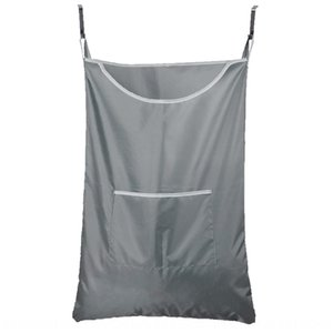 Hot sale bathroom Clothes storage household supplies dirty clothes and sundries storage bag behind door laundry bag