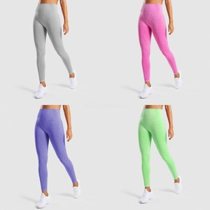 Women Seamless Yoga Leggings High Waist Fitness Pants Tights Gym Trousers Tummy Control Sports Leggings Hollow Running Pants#133
