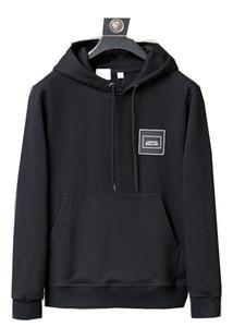 2020 Лондон печати Толстовки Мода Осень Зима BBR Дизайнер Новый Мужчины и Женщина Толстовка Burb пуловер O-образный вырез