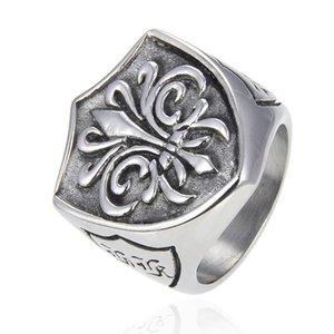 Для мужа подарочные мужские кольца готические волшебные якорь 316 из нержавеющей стали дьявол байкер кольца для мужчин старинные ретро панк моды ювелирные изделия