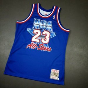 Cheap 100% Stitched Michael Jor dan Mitchell Ness 1993 All Star Jersey Size XS-5XL Top Basketball jerseys