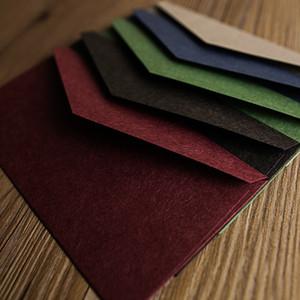 50pcs / set B3 (220 milímetros X 110 milímetros) Envelopes Grosso papel multifuncional Gift Card do envelope do convite para Papelaria Escola Escritório