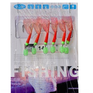 accesorios 8T45E luminoso luminosa cadena de piel de pescado hookworld gancho de piel de pescado biónica cadena de gancho de colgar Luya engranaje oficial pesca accesso