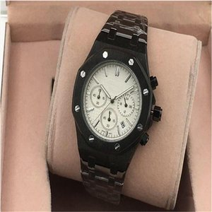 Womens Mens Luxe Famous Wristwatches Stainless Steel Quartz Movement Top Quality 3 Small Dial Fashion Watches Men Sports Casual Watch 05