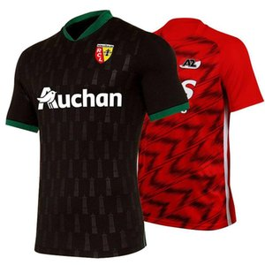 2020 RC Lens weg Fußball Jerseys 20 21 AZ Alkmaar nach Hause Fußballhemd Sotoca Robail Jean Kurzarmtrikot Camisa futebol T-Shirts