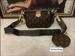 odern lady handbag single-shoulder bag Chain handbag lady's bag message bag free shipping three-piece a-z