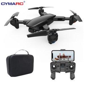 CYMARC SG701 / SG701S الطائرة بدون طيار واي فاي FPV مع 4K HD كاميرا مضادة للاهتزاز الوضع طوي الطائرات بدون طيار كوادكوبتر 500M صورة ناقل الحركة VS E520