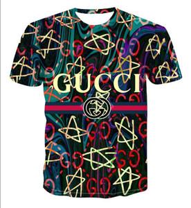 Gömlek Kısa t Yeni 2020 moda klasik lüks tasarımcıları erkek 6XL harfler mens Gucci gömlek markası gömlek tişört baskı Yüksek kaliteli kollu