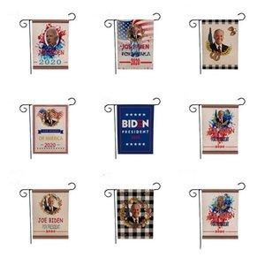 Drapeau Biden Garden Drapeau Biden Impression numérique Hanging nouvelle campagne de publicité Biden Flag 12 Styles 47 * 32cm Party Supplies DHC530 fête