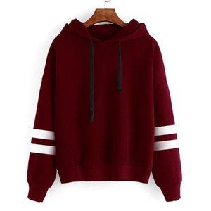 2019 Spring Autumn Womens Long Sleeve Hooded Sweatshirt Loose Casual Warm Hoodies Sweatshirts 4 Colors Female Jumper Tracksuits
