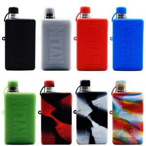 Silikon Kılıf için Vandy Vape Kylin M AIO Kiti Koruyucu Kapak Kutuları Renkli Dekoratif Yumuşak kauçuk Cilt Koruyucu DHL Ücretsiz