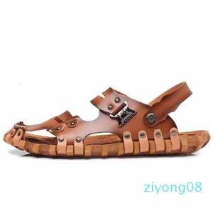 Homens Mulheres Sandálias Sapatos Deslize Summer Fashion Ampla Plano Slippery Sandals Slipper falhanço de aleta shoe10 P14 Z08