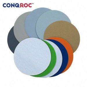 10 Pieces 200mm 8-inch Waterproof Sanding Discs Wet Dry Sandpaper Hook Loop Sanding Paper Grit Jewelry Polishing Mirror Finish BCB9#
