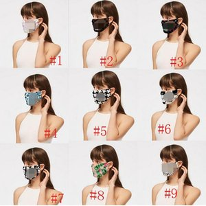 Fashion Dustproof Face Masks Washable Respirator Sunproof Dustproof Cycling Sports Mouth Cover Unisex Breathable Masks Mouth-muffle