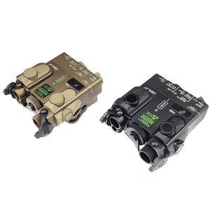 DBAL A2 원래 전체 기능 IR 레이저 조명 전술 손전등 GP 사냥 레이저 상자 배터리 상자