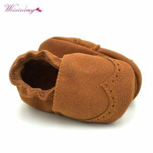 WEIXINBUY Весна Лето Детская обувь Sapato INFANTIL Детская ребёнки обувь занос доказательства Toddlers Первый ходунки