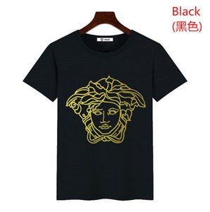 vers̴ace 2020 Men t shirts Summer New Cotton Short Sleeve Breathable Men Women Casual Outdoor Streetwear T-shirts