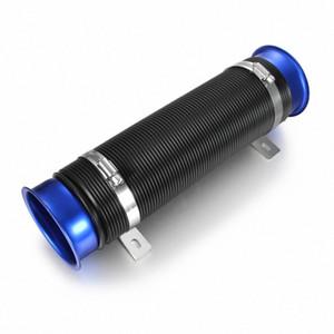 Универсальный 3 76мм Холодный воздух шланг Впускной коллектор Впускной коллектор Воздушный фильтр WoLq #