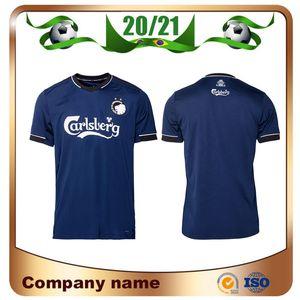 New 2020 Kopenhagen Fußball-Trikot 20/21 Startseite Black # 10 ZECA Fußball-Hemd # 14 N'Doye # 29 SKOV Customized Fußball-Uniformen